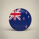 New Zealand Badge - 3DOcean Item for Sale