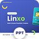 Linxo - Wallet & Payment Powerpoint Template - GraphicRiver Item for Sale