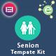 Senion - Senior Care Elementor Template Kit - ThemeForest Item for Sale