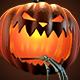 Carved Halloween Jack O'Lantern 3D Renders - GraphicRiver Item for Sale