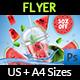 Watermelon Juice Flyer Template - GraphicRiver Item for Sale