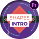 Shapes Intro For Premiere Pro - VideoHive Item for Sale