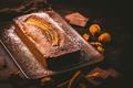 Homemade vegan banana bread or cake with nuts, chocolate and cinnamon - PhotoDune Item for Sale
