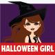 Manga Halloween Girl - GraphicRiver Item for Sale