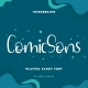 ComicSons Handwriting Font - GraphicRiver Item for Sale