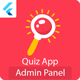 Flutter General Knowledge Quiz App with Admin Panel Full App ready to publish - CodeCanyon Item for Sale
