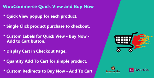 WooCommerce Quick View and Buy Now