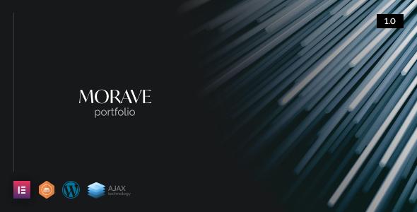 Morave - AJAX Portfolio WordPress Theme