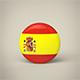Spain Badge - 3DOcean Item for Sale