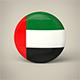 United Arab Emirates Badge - 3DOcean Item for Sale