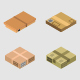 Isometric Boxes - GraphicRiver Item for Sale