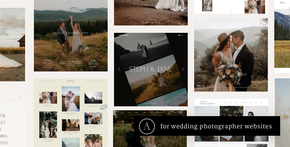 Artale   Wedding Photography Portfolio WordPress