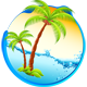 Happy Caribbean Hot Hawaiian Summer