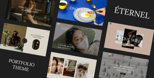 Éternel - Creative Portfolio WordPress Theme