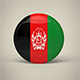 Afghanistan Badge - 3DOcean Item for Sale