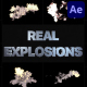 Real Explosions | After Effects - VideoHive Item for Sale