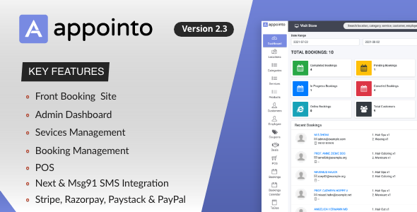 Appointo - Booking Management System