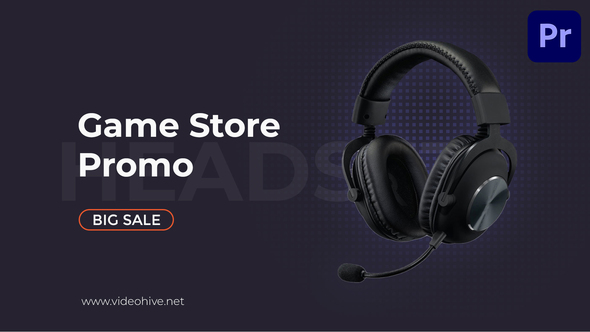 Sale Product Promo | Game Store Mogrt 100