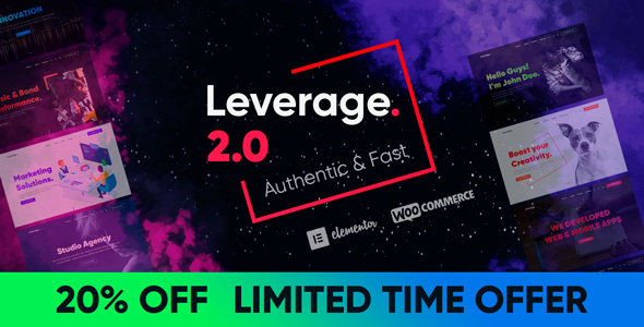 Leverage - Elementor Theme for Agency