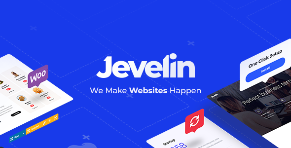Jevelin Multi-Purpose Premium Responsive Theme WordPress