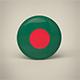 Bangladesh badge - 3DOcean Item for Sale