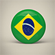 Brazil Badge - 3DOcean Item for Sale