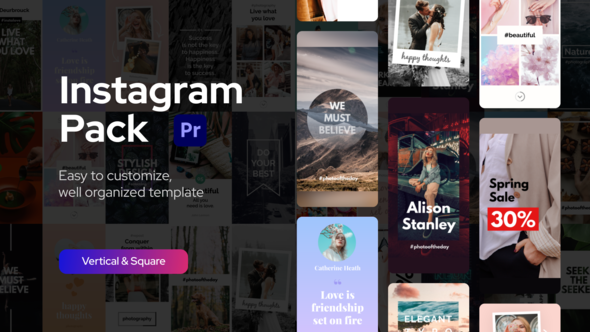Instagram Pack for Premiere Pro