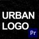 Urban Logo   For Premiere Pro - VideoHive Item for Sale