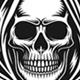 Grim Reaper With Scythe Vector Graphic - GraphicRiver Item for Sale