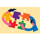 Teamwork Collaboration and Uniting Efforts - GraphicRiver Item for Sale