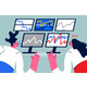 Financial Stock Exchange Data Concept - GraphicRiver Item for Sale