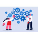 Teamwork Business Work Collaboration Concept - GraphicRiver Item for Sale