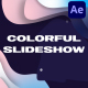Colorful Liquid Stories Slideshow   After Effects - VideoHive Item for Sale
