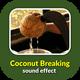 Coconut Breaking Sound