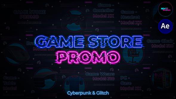 Game Store Promo