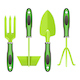 Vector Green Mini Gardening Tools - GraphicRiver Item for Sale