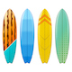 Vector Surfboard Icons Set 3 - GraphicRiver Item for Sale