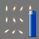 Vector 3d Realistic Blank Blue Gasoline Lighter - GraphicRiver Item for Sale