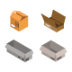 Isometric Box Illustrated On White Background - GraphicRiver Item for Sale