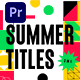 Summer Titles 3 in 1 - VideoHive Item for Sale