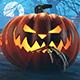 Halloween Moonlit Cemetery 3D Renders - GraphicRiver Item for Sale