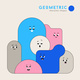 Cute Cartoon Geometric Figures with Different Face - GraphicRiver Item for Sale