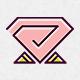 Diamond Rose Logo - GraphicRiver Item for Sale