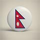 Nepal Badge - 3DOcean Item for Sale