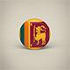 Sri Lanka Badge - 3DOcean Item for Sale