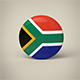 South Africa Badge - 3DOcean Item for Sale