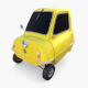 Peel P50 Yellow with chassis - 3DOcean Item for Sale