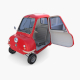 Peel P50 Red with interior and chassis - 3DOcean Item for Sale