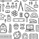 School Pattern - GraphicRiver Item for Sale