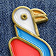 Simple Enamel Pin - GraphicRiver Item for Sale